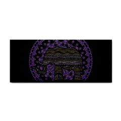Ornate Mandala Elephant  Cosmetic Storage Cases by Valentinaart