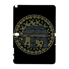 Ornate Mandala Elephant  Galaxy Note 1 by Valentinaart