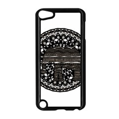 Ornate Mandala Elephant  Apple Ipod Touch 5 Case (black) by Valentinaart