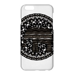 Ornate Mandala Elephant  Apple Iphone 6 Plus/6s Plus Hardshell Case by Valentinaart