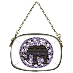 Ornate Mandala Elephant  Chain Purses (two Sides)  by Valentinaart