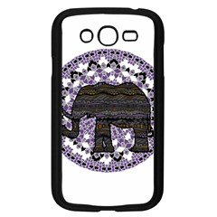 Ornate Mandala Elephant  Samsung Galaxy Grand Duos I9082 Case (black) by Valentinaart