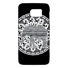 Ornate Mandala Elephant  Galaxy S6 by Valentinaart