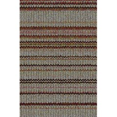 Stripy Knitted Wool Fabric Texture 5 5  X 8 5  Notebooks by BangZart