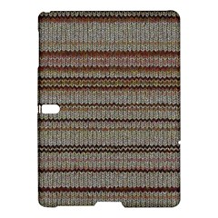 Stripy Knitted Wool Fabric Texture Samsung Galaxy Tab S (10 5 ) Hardshell Case  by BangZart
