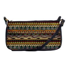 Aztec Pattern Shoulder Clutch Bags