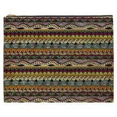 Aztec Pattern Cosmetic Bag (xxxl)  by BangZart