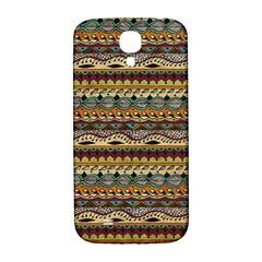 Aztec Pattern Samsung Galaxy S4 I9500/i9505  Hardshell Back Case by BangZart