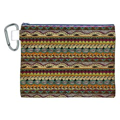 Aztec Pattern Canvas Cosmetic Bag (xxl) by BangZart