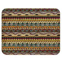 Aztec Pattern Double Sided Flano Blanket (medium)  by BangZart