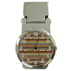 Aztec Pattern Money Clip Watches by BangZart