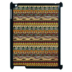 Aztec Pattern Apple Ipad 2 Case (black) by BangZart
