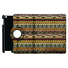 Aztec Pattern Apple Ipad 2 Flip 360 Case by BangZart