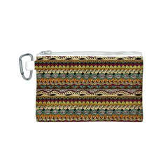 Aztec Pattern Canvas Cosmetic Bag (s) by BangZart