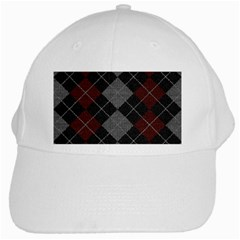 Wool Texture With Great Pattern White Cap by BangZart