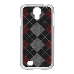 Wool Texture With Great Pattern Samsung Galaxy S4 I9500/ I9505 Case (white) by BangZart