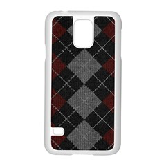 Wool Texture With Great Pattern Samsung Galaxy S5 Case (white) by BangZart