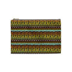 Bohemian Fabric Pattern Cosmetic Bag (medium)  by BangZart