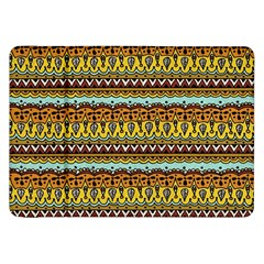 Bohemian Fabric Pattern Samsung Galaxy Tab 8 9  P7300 Flip Case by BangZart