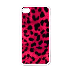 Leopard Skin Apple Iphone 4 Case (white) by BangZart