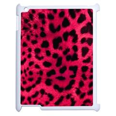 Leopard Skin Apple Ipad 2 Case (white) by BangZart