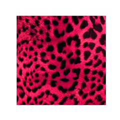 Leopard Skin Small Satin Scarf (square) by BangZart