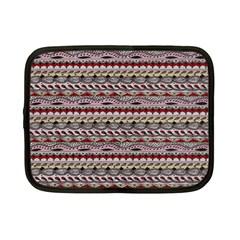 Aztec Pattern Patterns Netbook Case (small)  by BangZart