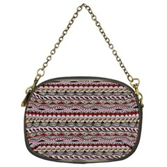 Aztec Pattern Patterns Chain Purses (one Side)  by BangZart