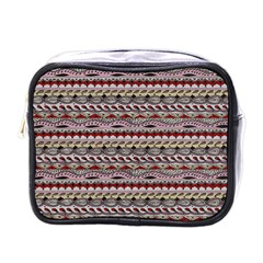 Aztec Pattern Patterns Mini Toiletries Bags by BangZart