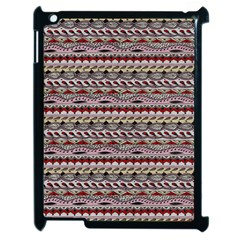 Aztec Pattern Patterns Apple Ipad 2 Case (black) by BangZart