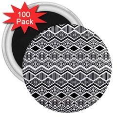 Aztec Design  Pattern 3  Magnets (100 Pack) by BangZart