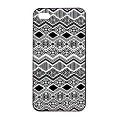 Aztec Design  Pattern Apple Iphone 4/4s Seamless Case (black) by BangZart