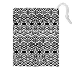 Aztec Design  Pattern Drawstring Pouches (xxl) by BangZart