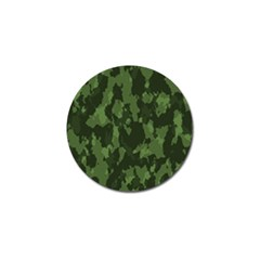 Camouflage Green Army Texture Golf Ball Marker (4 Pack) by BangZart