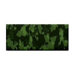Camouflage Green Army Texture Cosmetic Storage Cases by BangZart
