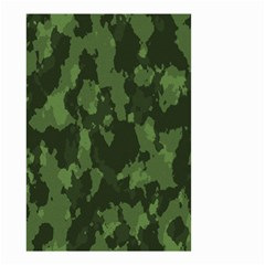 Camouflage Green Army Texture Small Garden Flag (two Sides) by BangZart