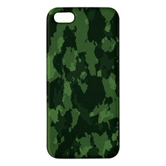 Camouflage Green Army Texture Iphone 5s/ Se Premium Hardshell Case by BangZart