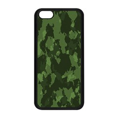 Camouflage Green Army Texture Apple Iphone 5c Seamless Case (black) by BangZart