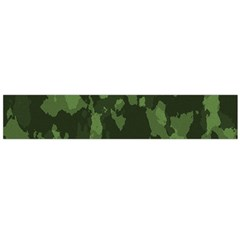 Camouflage Green Army Texture Flano Scarf (large) by BangZart