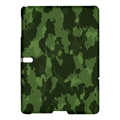 Camouflage Green Army Texture Samsung Galaxy Tab S (10 5 ) Hardshell Case  by BangZart