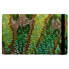 Chameleon Skin Texture Apple Ipad 2 Flip Case by BangZart