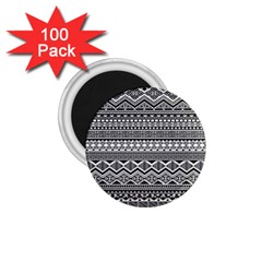 Aztec Pattern Design 1 75  Magnets (100 Pack)  by BangZart