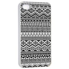 Aztec Pattern Design Apple Iphone 4/4s Seamless Case (white) by BangZart