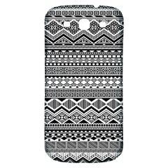 Aztec Pattern Design Samsung Galaxy S3 S Iii Classic Hardshell Back Case by BangZart