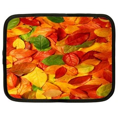 Leaves Texture Netbook Case (xxl)  by BangZart