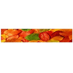Leaves Texture Flano Scarf (large) by BangZart