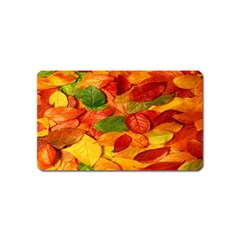 Leaves Texture Magnet (name Card)