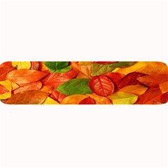 Leaves Texture Large Bar Mats by BangZart