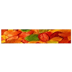 Leaves Texture Flano Scarf (small) by BangZart
