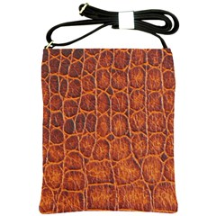 Crocodile Skin Texture Shoulder Sling Bags by BangZart